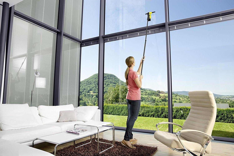 comment nettoyer des vitres difficilement accessibles. Black Bedroom Furniture Sets. Home Design Ideas